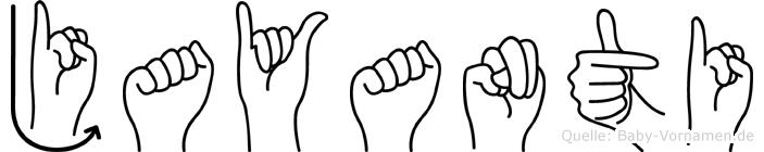 Jayanti in Fingersprache für Gehörlose