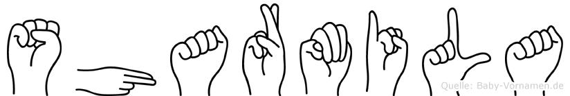 Sharmila in Fingersprache für Gehörlose