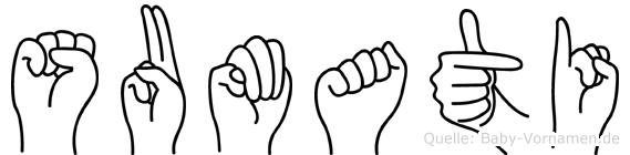 Sumati in Fingersprache für Gehörlose