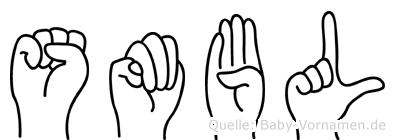 Sümbül im Fingeralphabet der Deutschen Gebärdensprache