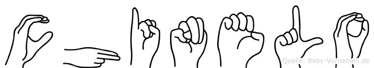 Chinelo in Fingersprache für Gehörlose