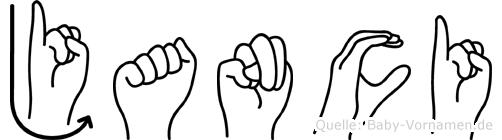 Janci in Fingersprache für Gehörlose