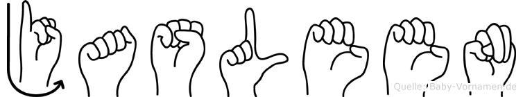 Jasleen in Fingersprache für Gehörlose