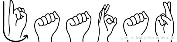 Jaafar in Fingersprache für Gehörlose