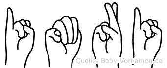 Imri in Fingersprache für Gehörlose