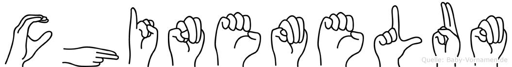 Chinemelum in Fingersprache für Gehörlose