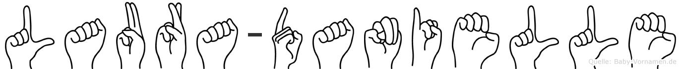 Laura-Danielle im Fingeralphabet der Deutschen Gebärdensprache