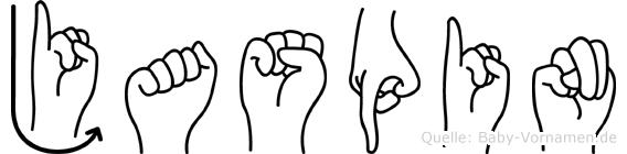 Jaspin in Fingersprache für Gehörlose