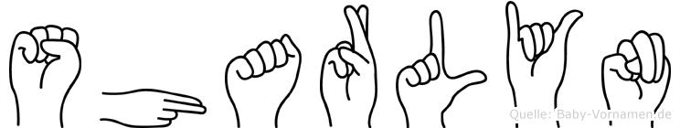 Sharlyn in Fingersprache für Gehörlose