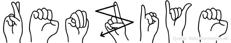 Remziye in Fingersprache für Gehörlose