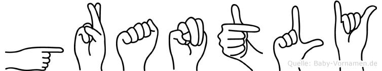 Grantly in Fingersprache für Gehörlose