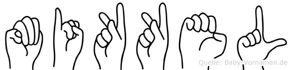 Mikkel in Fingersprache für Gehörlose