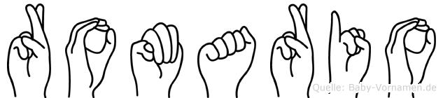 Romario in Fingersprache für Gehörlose