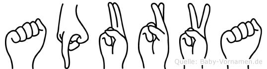 Apurva in Fingersprache für Gehörlose
