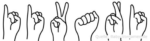 Iivari in Fingersprache für Gehörlose