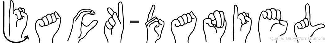 Jack-Daniel im Fingeralphabet der Deutschen Gebärdensprache