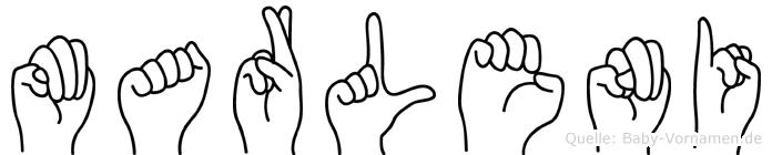 Marleni in Fingersprache für Gehörlose