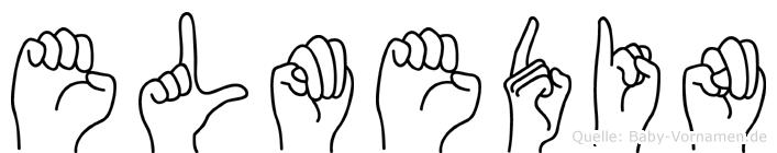Elmedin in Fingersprache für Gehörlose