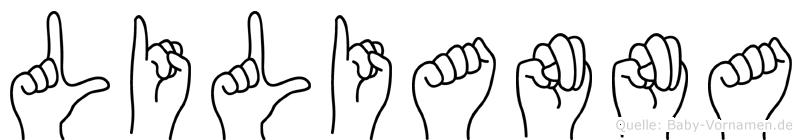 Lilianna in Fingersprache für Gehörlose
