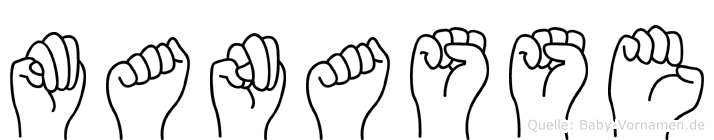 Manasse in Fingersprache für Gehörlose