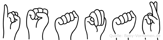 Isamar in Fingersprache für Gehörlose