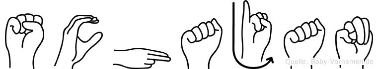Schajan in Fingersprache für Gehörlose