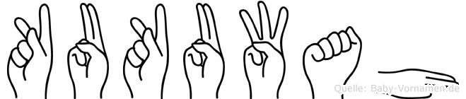 Kukuwah in Fingersprache für Gehörlose