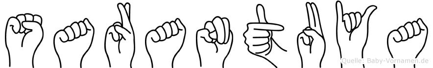 Sarantuya in Fingersprache für Gehörlose