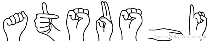 Atsushi in Fingersprache für Gehörlose