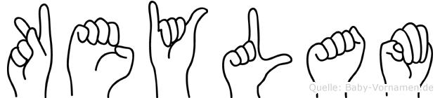 Keylam in Fingersprache für Gehörlose