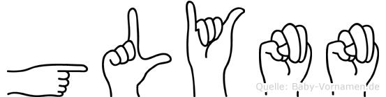Glynn in Fingersprache für Gehörlose