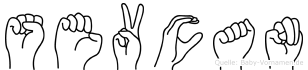 Sevcan im Fingeralphabet der Deutschen Gebärdensprache