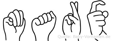 Marx in Fingersprache für Gehörlose