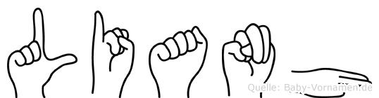 Lianh in Fingersprache für Gehörlose