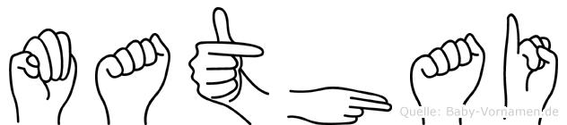 Mathai in Fingersprache für Gehörlose