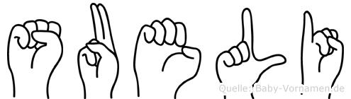 Sueli in Fingersprache für Gehörlose