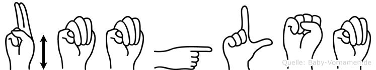 Ümmügülsüm in Fingersprache für Gehörlose
