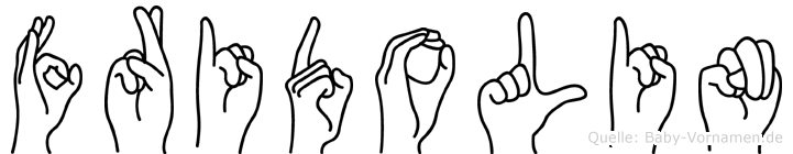 Fridolin in Fingersprache für Gehörlose