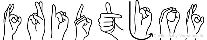 Fridtjof in Fingersprache für Gehörlose