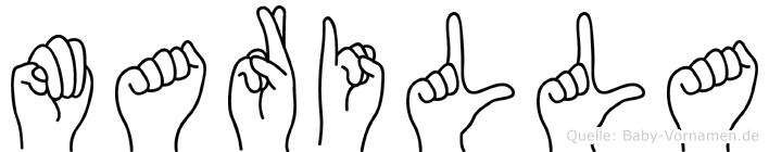 Marilla in Fingersprache für Gehörlose