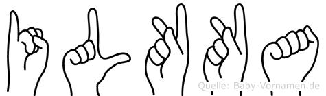 Ilkka in Fingersprache für Gehörlose