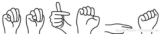 Münteha in Fingersprache für Gehörlose