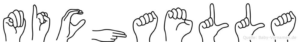 Michaella in Fingersprache für Gehörlose