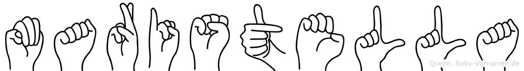 Maristella in Fingersprache für Gehörlose