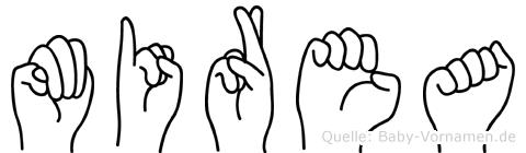 Mirea in Fingersprache für Gehörlose
