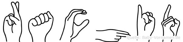 Rachid in Fingersprache für Gehörlose