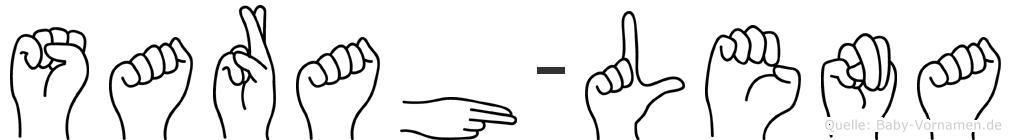 Sarah-Lena im Fingeralphabet der Deutschen Gebärdensprache
