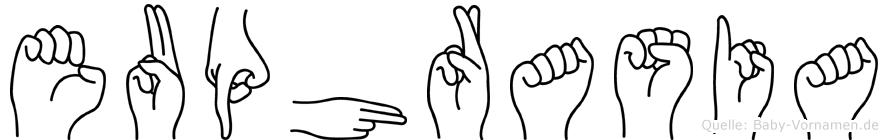 Euphrasia in Fingersprache für Gehörlose