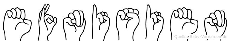 Efnisien in Fingersprache für Gehörlose