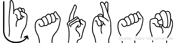 Jadran in Fingersprache für Gehörlose